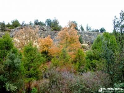 Cañones del Río Lobos y Valderrueda;pueblos con encanto en segovia vacaciones junio senderismo en